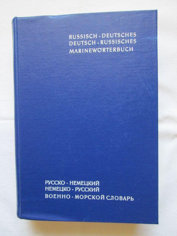 Russisch-Deutsches / Deutsch-Russisches Marinewörterbuch