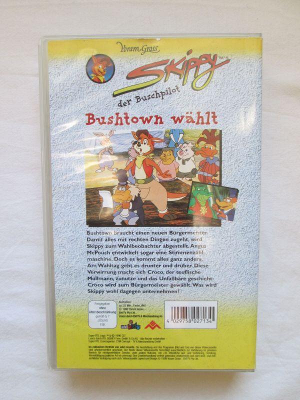 """Skippy der Buschpilot - """"Bushtown wählt"""" 1"""