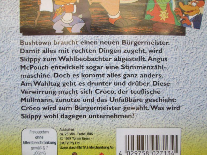 """Skippy der Buschpilot - """"Bushtown wählt"""" 2"""