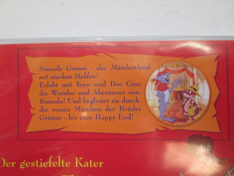 Simsala Grimm: Die Märchen der Brüder Grimm - zwei Märchen (1.) Der gestiefelte Kater + 2.) Brüderchen und Schwesterchen) 2