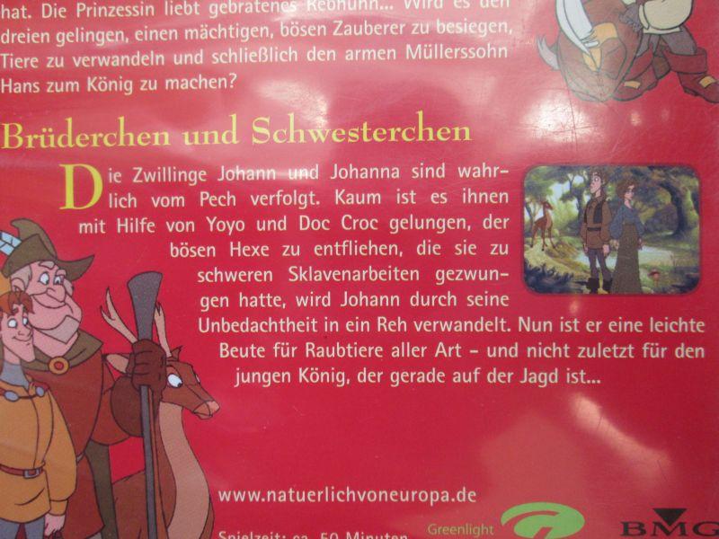 Simsala Grimm: Die Märchen der Brüder Grimm - zwei Märchen (1.) Der gestiefelte Kater + 2.) Brüderchen und Schwesterchen) 4