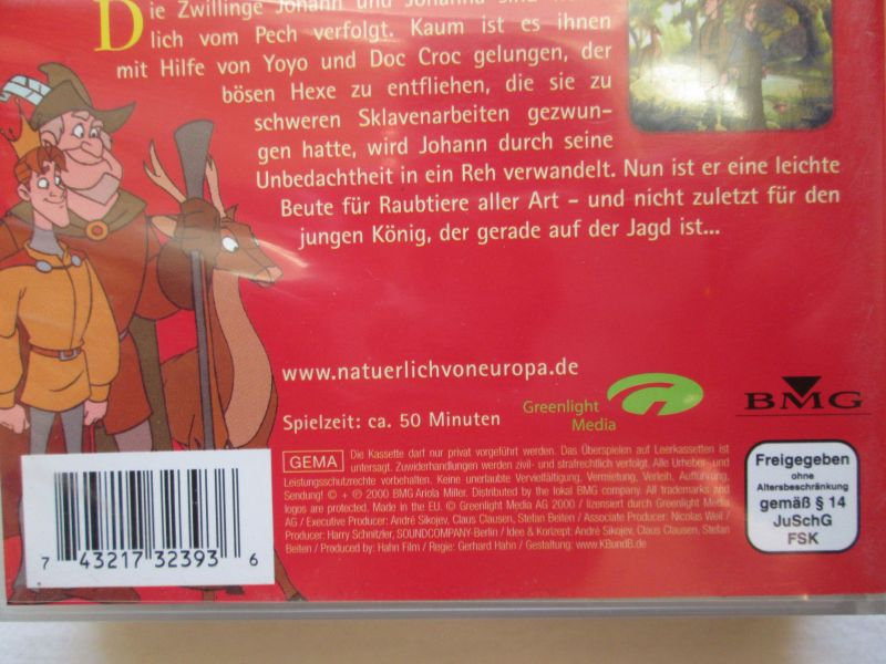 Simsala Grimm: Die Märchen der Brüder Grimm - zwei Märchen (1.) Der gestiefelte Kater + 2.) Brüderchen und Schwesterchen) 5