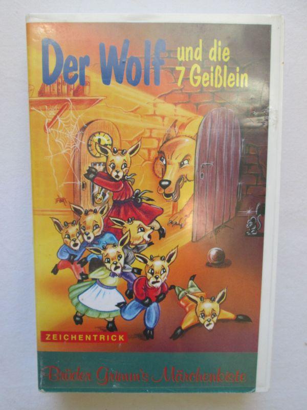 Der Wolf und die 7 Geißlein (Zeichentrick) (Brüder Grimm`s Märchenkiste)