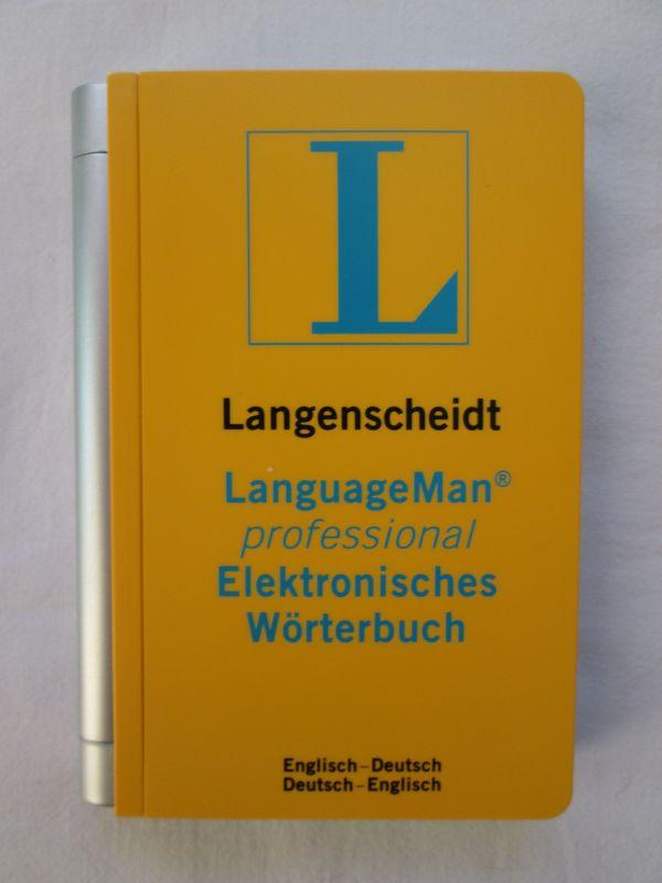 Langenscheidt LanguageMan professional Elektronisches Wörterbuch Englisch