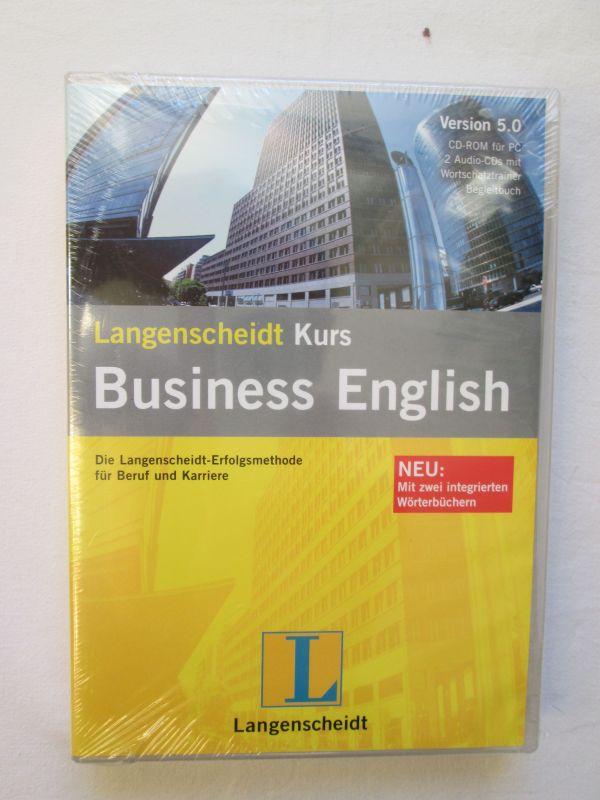 Langenscheidt: Kurs Business English (Version 5.0)  (CD-ROM für PC; 2 Audio-CDs mit Wortschatztrainer und Begleitbuch)