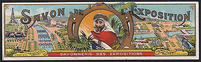 Etikett für Seife - Savon de L'Exposition - soap label  étiquette de Savon #2320