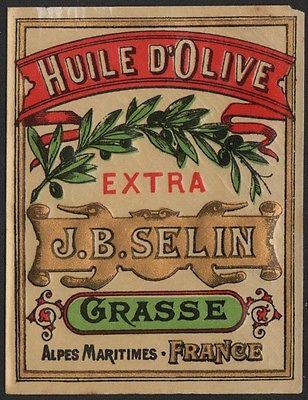 Etikett für Olivenöl / olive oil label / etiquette de l'huile d'olive # 2507
