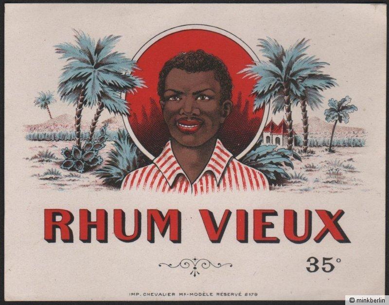 Rhum Vieux / Rum Etikett / rhum label / etiquette de rhum / ~ 1930 # 1951