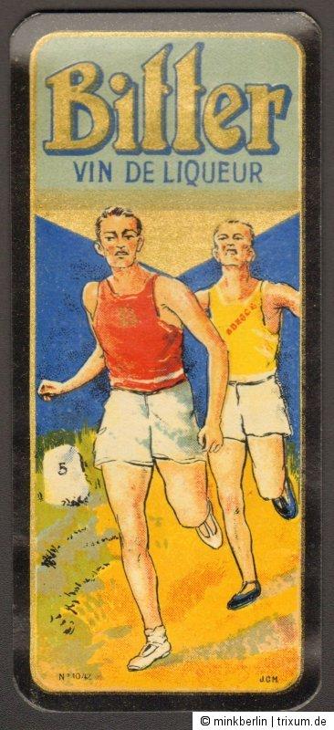 Likör Etikett für Bitter/  Étiquette Bitter Vin de Liqueur - ca.1920 # 890