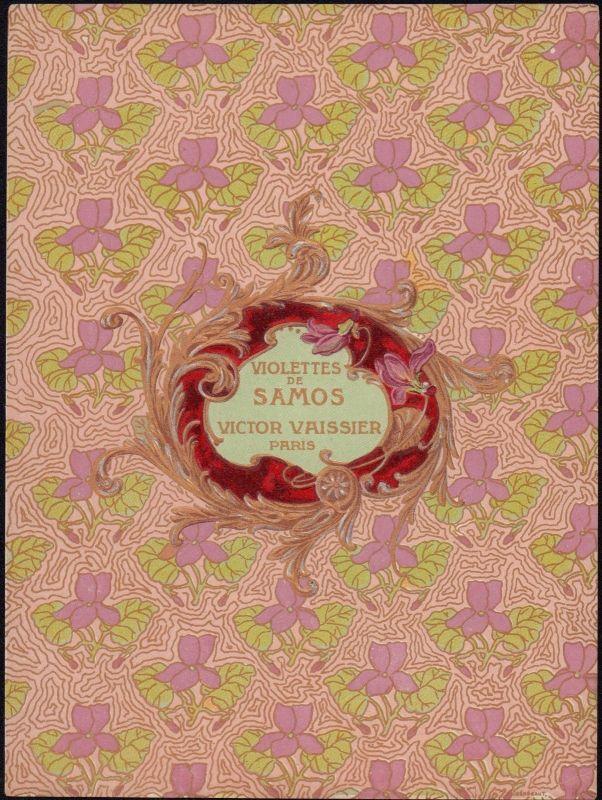 Etikett für Seife - Violettes - soap label - Étiquette de savon - ca.1930 #2120
