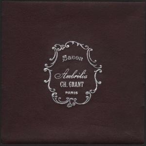 Etikett für Seife / étiquette de Savon Ambrelia / soap label / ca.1920 # 1593