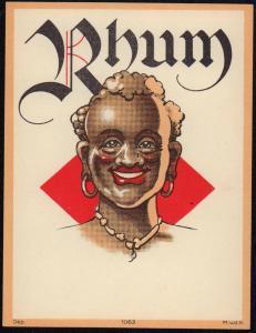 Etikett für Rum - rum label - etiquette de Rhum #1573