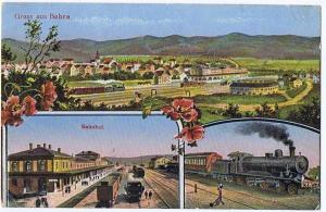 Gruß aus Bebra gel.1917