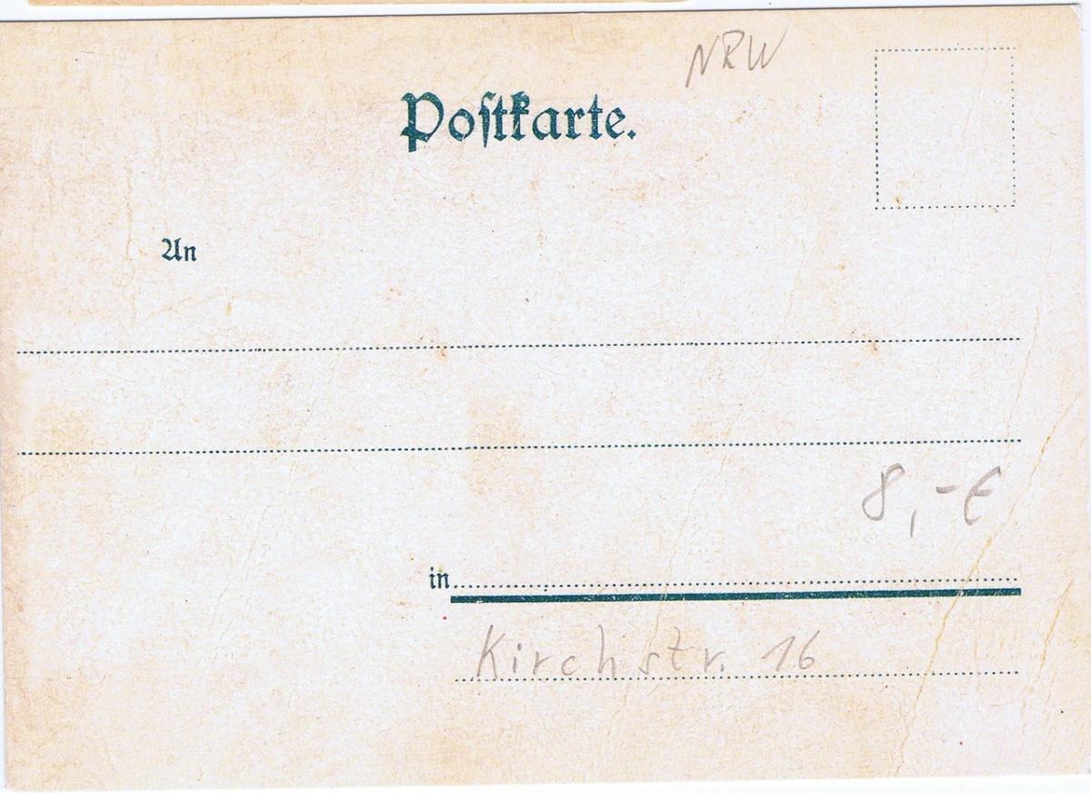Litho,Gruß aus Velbert,ungel.um 1900 1
