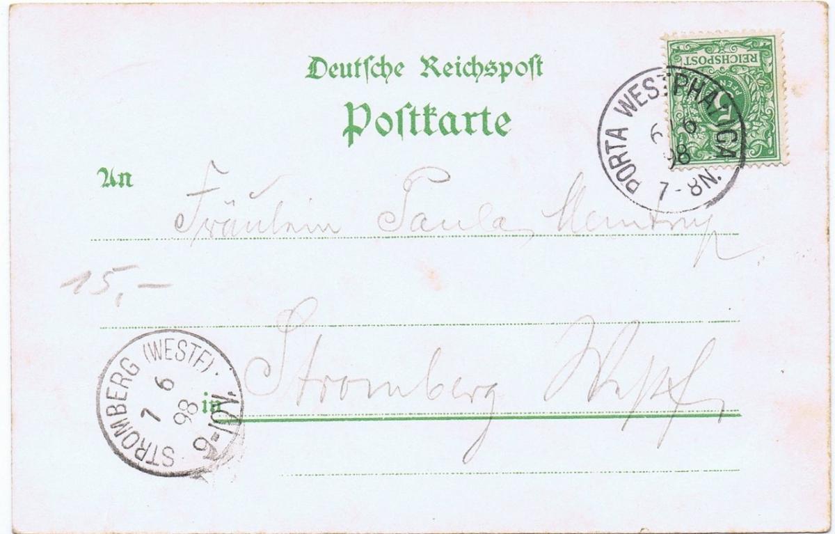 Litho,Gruß aus Hannover,gel.1898  1