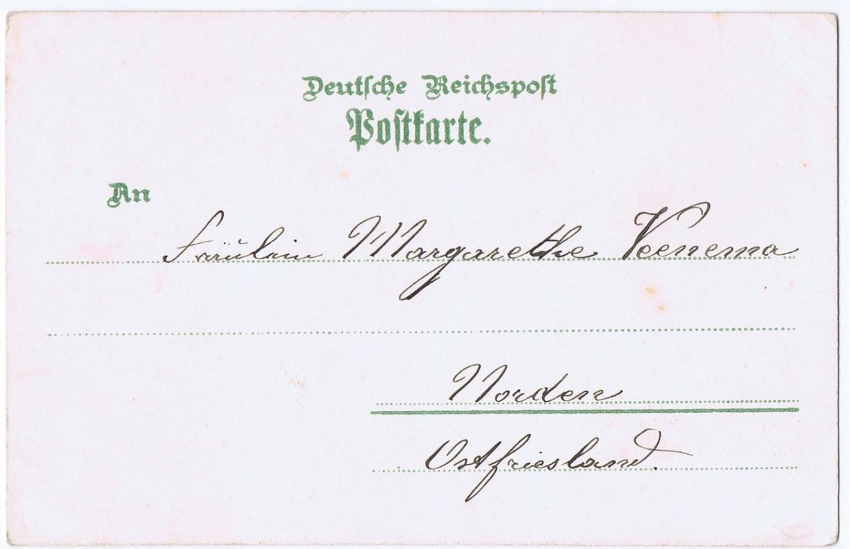 Litho,Gruß aus Hannover,gel.im Brief um 1900 1