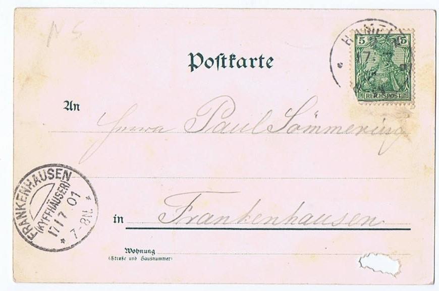 Litho,Gruß aus Hameln 1901 1