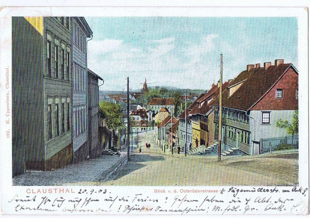 Clausthal gel. 1903 0