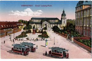 Litho Darmstadt gel.um 1916