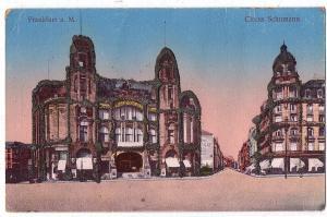 Litho Frankfurt gel.um 1910