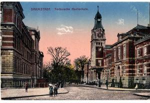 Litho Darmstadt gel. 1917
