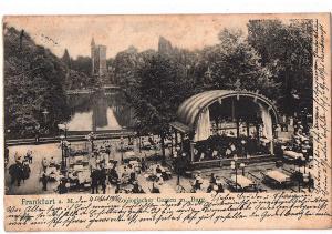 Litho Frankfurt gel.um 1906