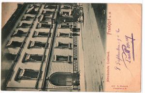 Litho Frankfurt gel.um 1902