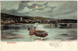 Litho Höchst gel. 1906