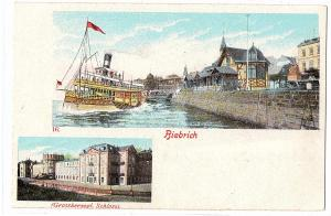 Litho Biebrich ungel.um 1910