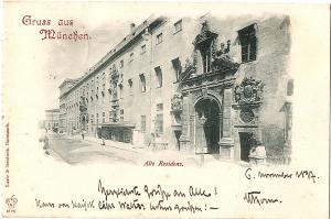 Litho AK Gruß aus München gel.1900