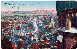 Ak München gel.1922