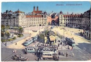 Ak München gel.1918