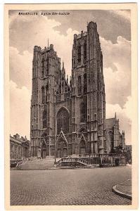 alte Ansichtskarte Belgien ungel. um 1920