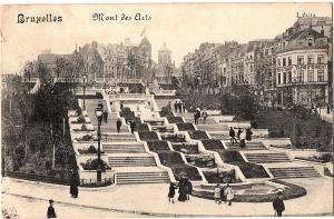 alte Ansichtskarte Belgien gel. 1913