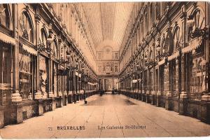 alte Ansichtskarte Belgien gel. 1912