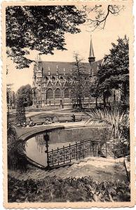 alte Ansichtskarte Belgien gel. 193?