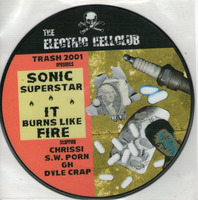 ELECTRIC HELLCLUB / THE NEGATIVES 2001 Pict.7'EP Split NEU