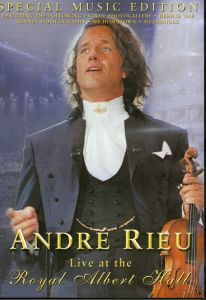 André Rieu - Live at the Royal Albert Hall [Special Edition]  DVD Neu