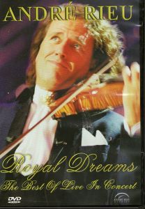"DVD André Rieu ""Royal Dreams -The Best Of Live In Concert"" Neu"