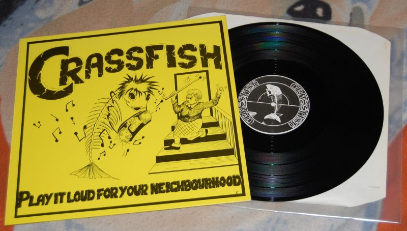 CRASSFISH – Play it Loud for my Neighbourhood 12'LP
