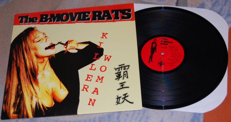 THE B-MOVIE RATS Killer Woman 12'LP