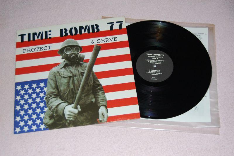 TIME BOMB 77 Protect & Serve 12'LP
