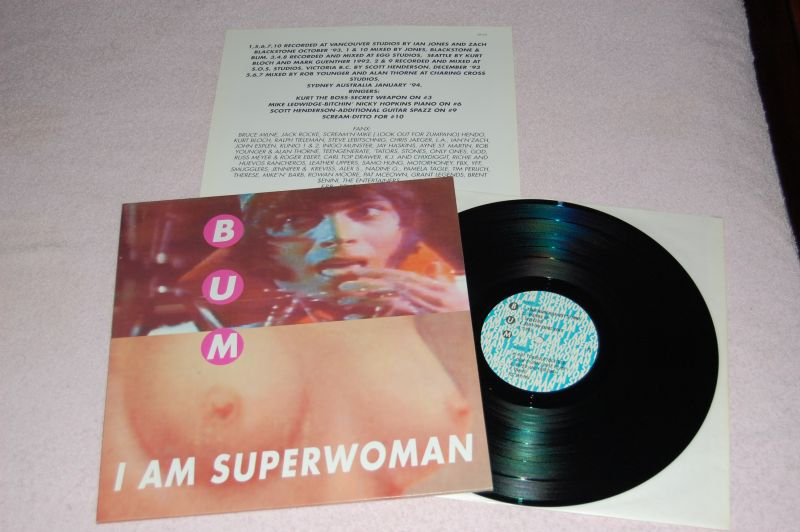 BUM I am Superwoman 12'LP