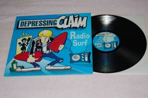 DEPRESSING CLAIM Radio Surf 12'LP