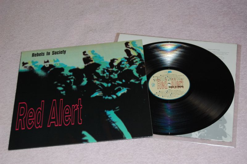 RED ALERT Rebels In Society 12'LP