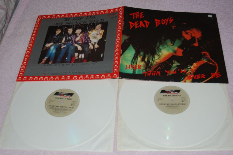 THE DEAD BOYS Liver than you'll ever be DoLP