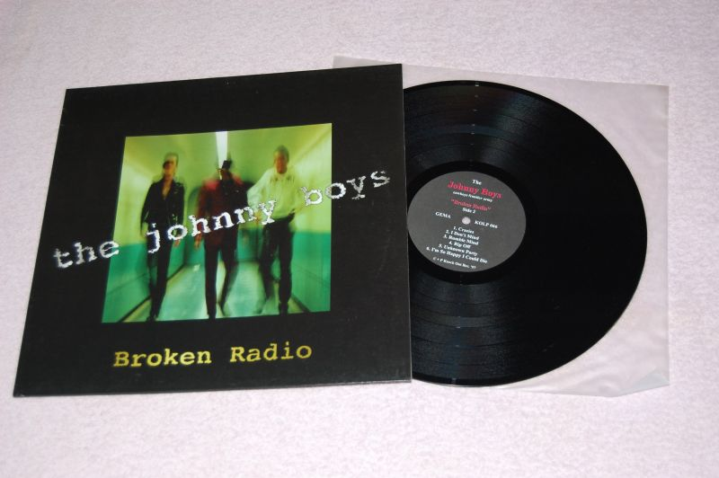 THE JOHNNY BOYS Broken Radio 12'LP
