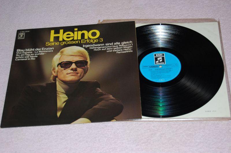 HEINO Seine grossen Erfolge 3 12'LP