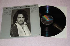 NEIL DIAMOND His 12 Greatest Hits 12'LP