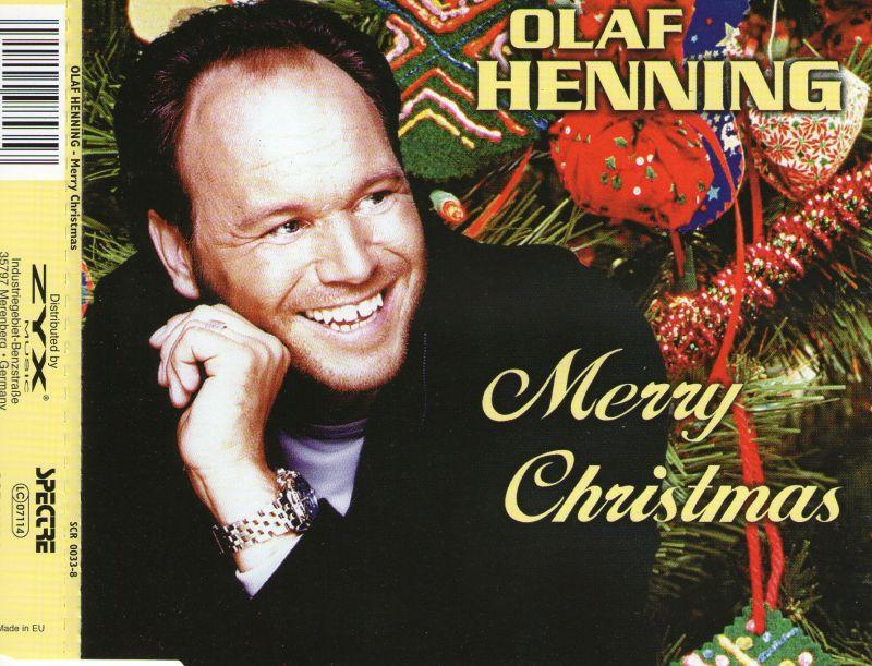 OLAF HENNING Merry Christmas MCD 2001 Neu